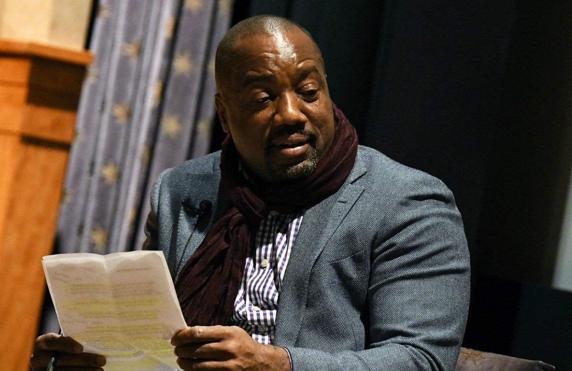 Malik Yoba Storms Out of interview Over Trans Sex Accusations