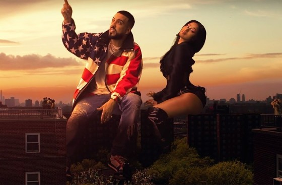 "Watch French Montana's ""Writings on the Wall"" Video f/ Cardi B & Post Malone"