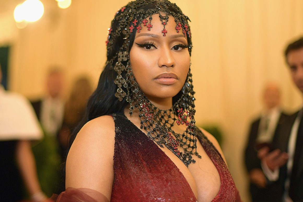 Nicki Minaj Reveals She's Pregnant With First Child