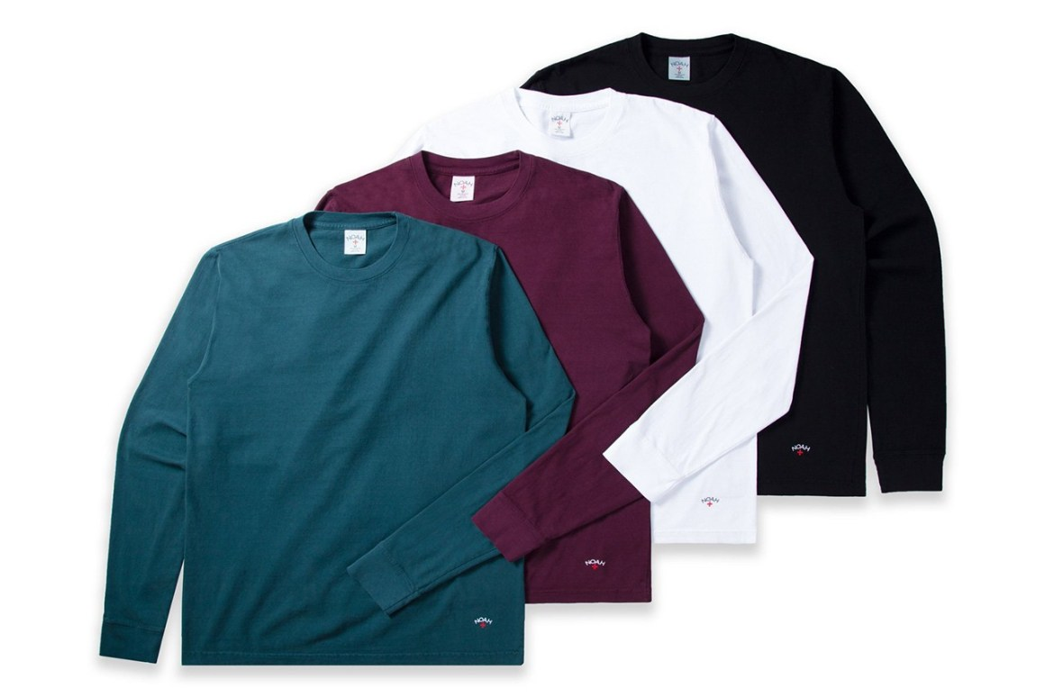 "NOAH Introduces 100% Recycled ""Garbage"" Long-Sleeve T-Shirts"