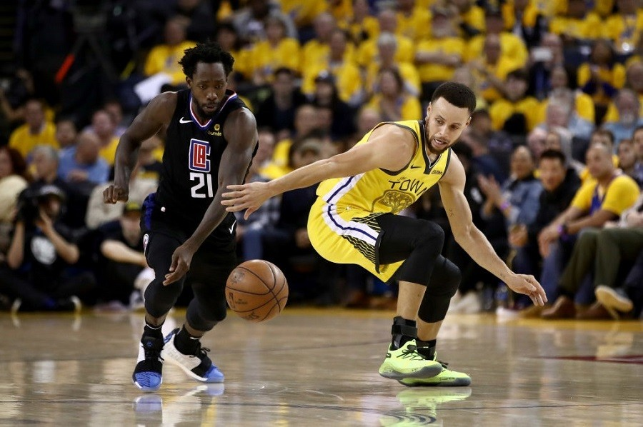 "Patrick Beverley Trolls Warriors, ""Y'all a Little Different without KD, I See"""