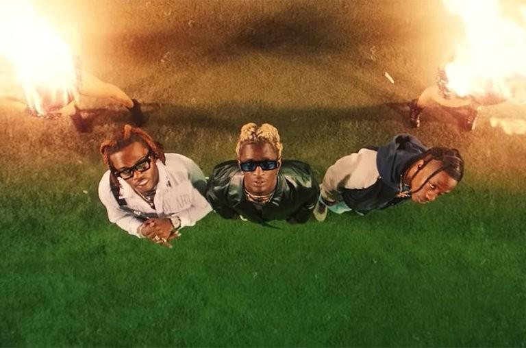 "Travis Scott Assists Young Thug & Gunna On ""Hot (Remix)"""