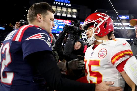 Patrick Mahomes Reveals Advice from Tom Brady after AFC Championship Game