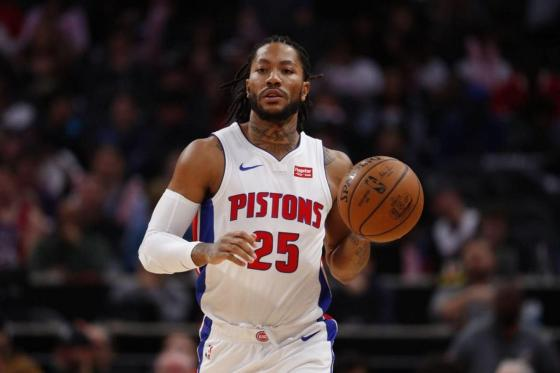 Lakers Reportedly inquired about Derrick Rose from the Detroit Pistons