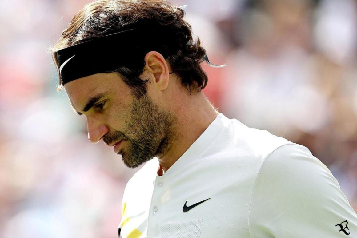 """Roger Federer Buys """"RF"""" Logo Back From Nike"""