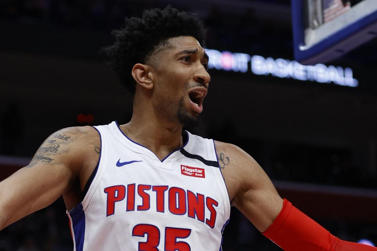 Pistons' Christian Wood tests positive for virus