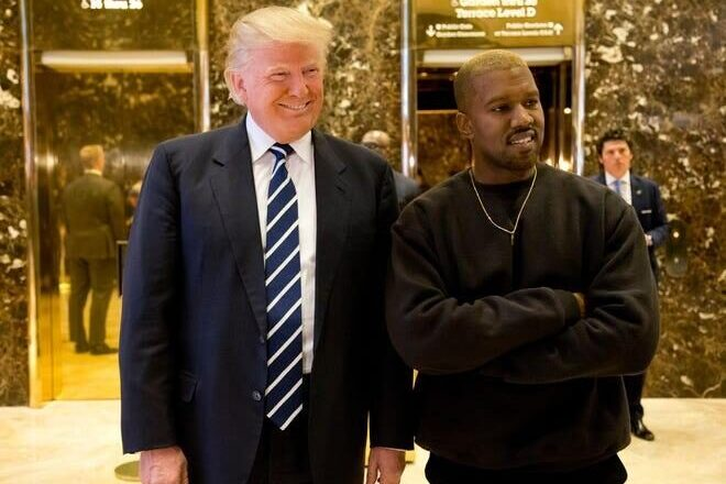 "Kanye West No Longer Backs Trump, Claims Vaccines are ""Mark of the Beast"""