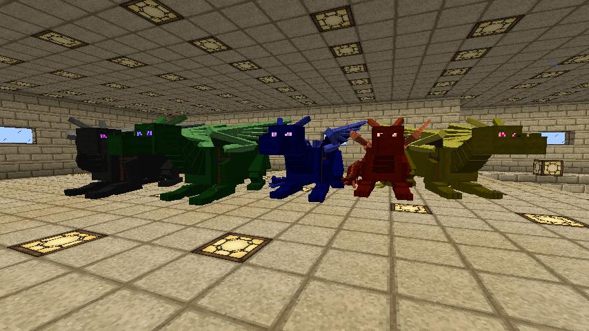мод для майнкрафт 1.7.10 dragon mounts #4