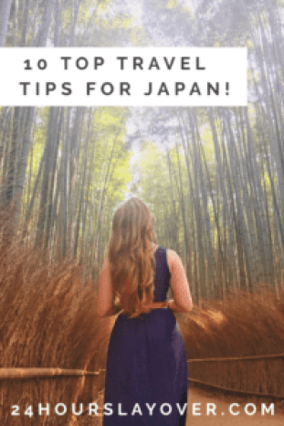 10 top travel tips for Japan