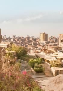 coptic christian cave church Cairo garbage city