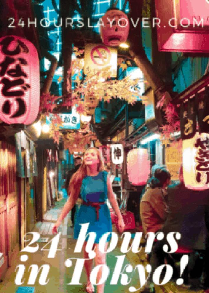 24 hours in tokyo japan