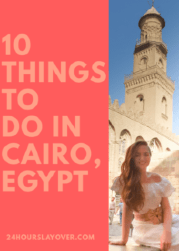 10 things to do in cairo, egypt