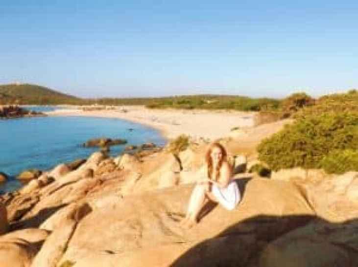 Sardinia villasimius beach