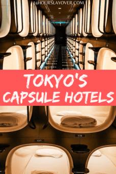 tokyo capsule hotels
