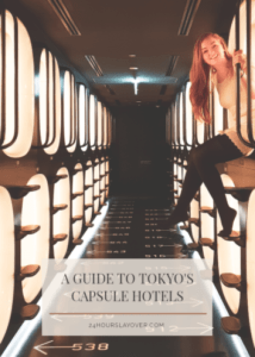 a guide to tokyos capsule hotels