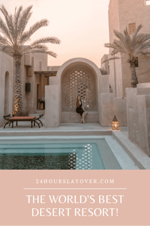 world's best desert resort bab al shams dubai