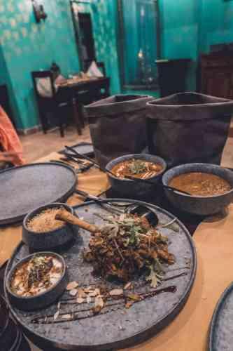 masala indian restaurant bab al shams dubai
