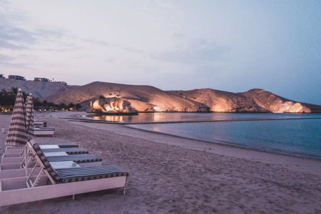 muscat hills beach resort Oman