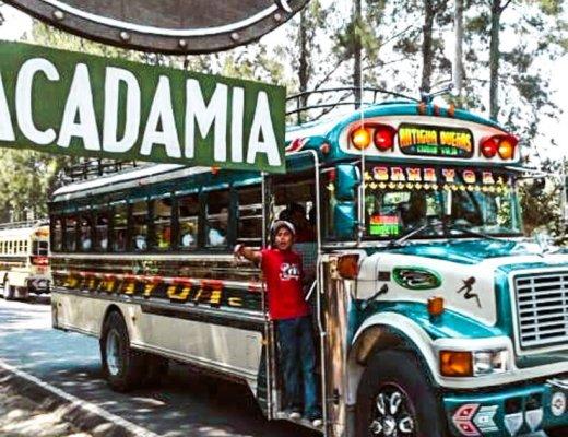Valhalla Guatemala chicken bus