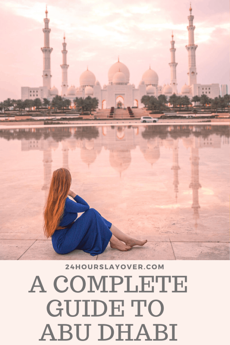 we are travel girls guide to Abu Dhabi