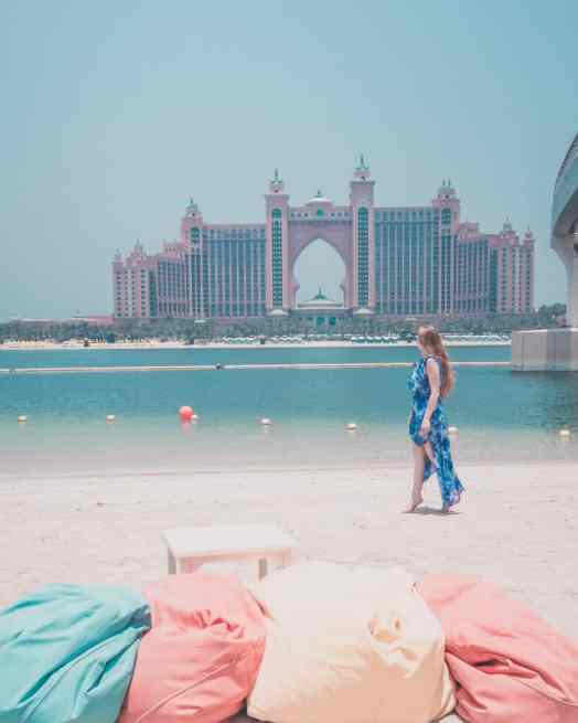Atlantis the palm the points dubai beach