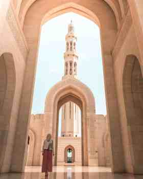 sultan qaboos grand mosque muscat oman travel itinerary