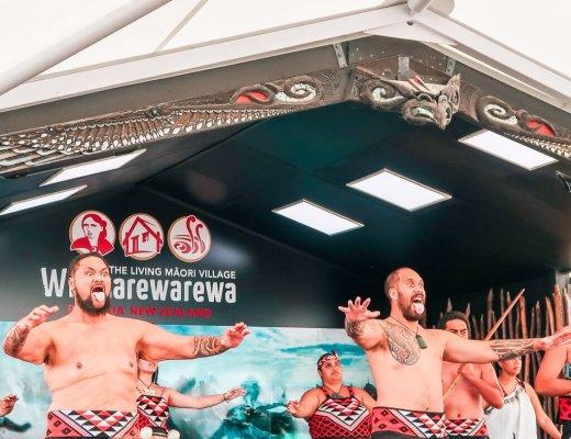 haka Maori Rotorua New Zealand dance