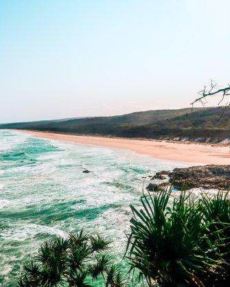 day trip to north Stradbroke island Australia