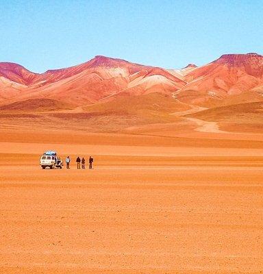 salar de uyuni Bolivia itinerary