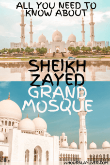 abu Dhabi sheikh zayed grand mosque best photo spots