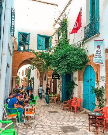 Tunisia tunis Medina coffee shop