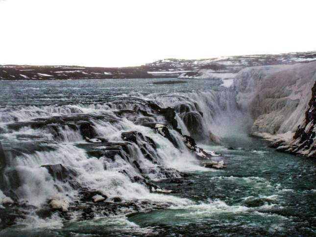 golden circle Iceland waterfall
