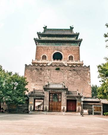 Hutong 24 hours in Beijing tower