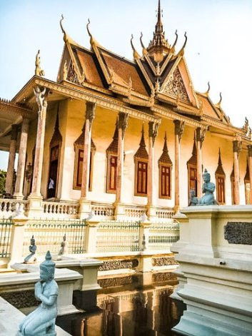 the grand palace Phnom Penh