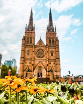 Sydney hyde park cathedral