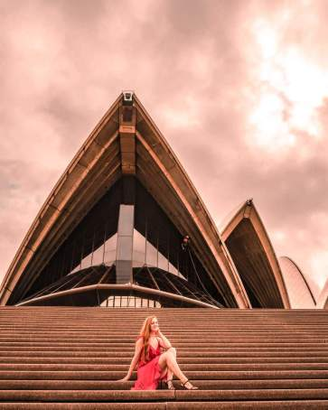 Sydney opera house instagrammable places