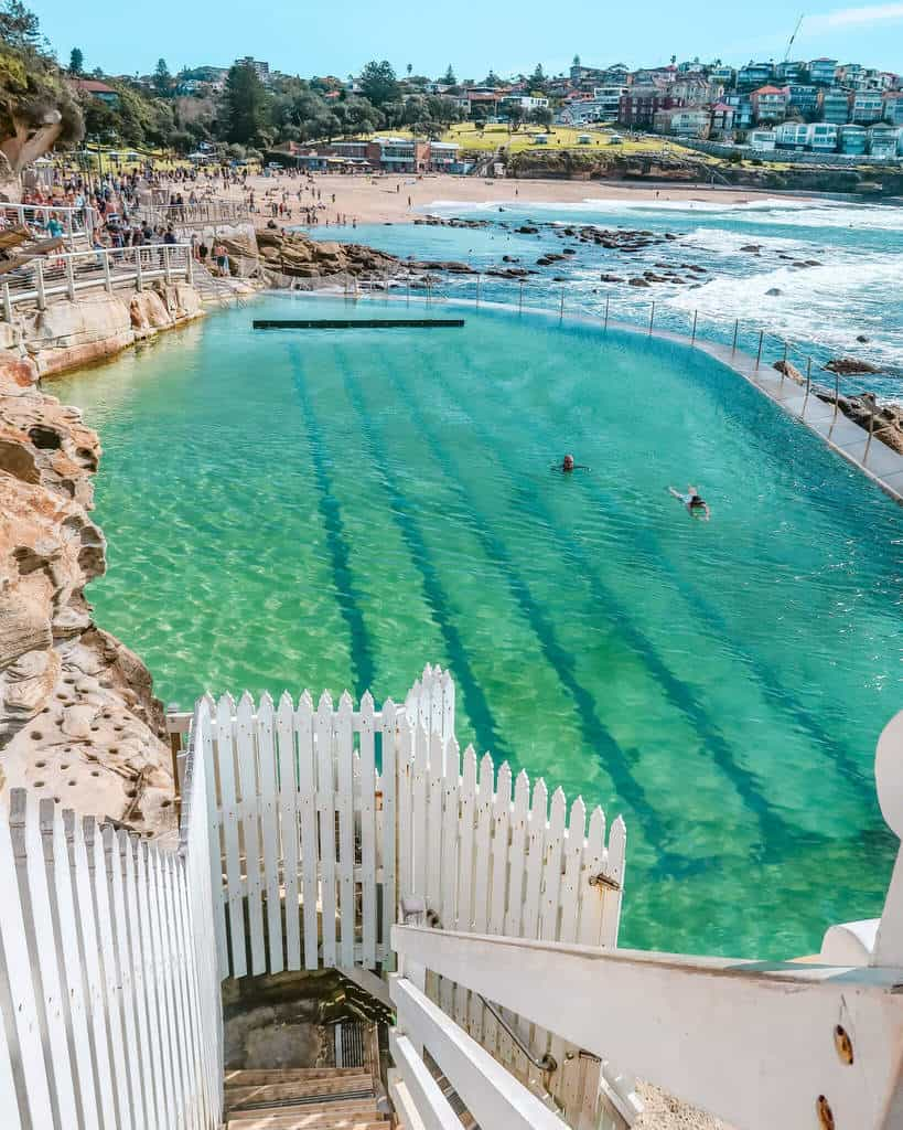 Bronte baths Sydney ocean pool