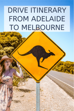 drive itinerary from Adelaide to Melbourne