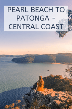 pearl beach to Patonga central coast