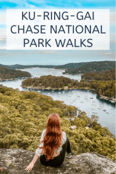 ku-ring-gai chase national park walks
