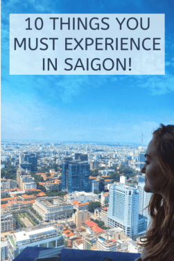 10 things you must experience in Saigon