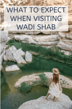 what to expect when visiting wadi shab