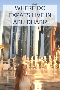 where do expats live in Abu Dhabi?