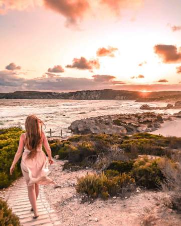 Pennington bay kangaroo island sunset