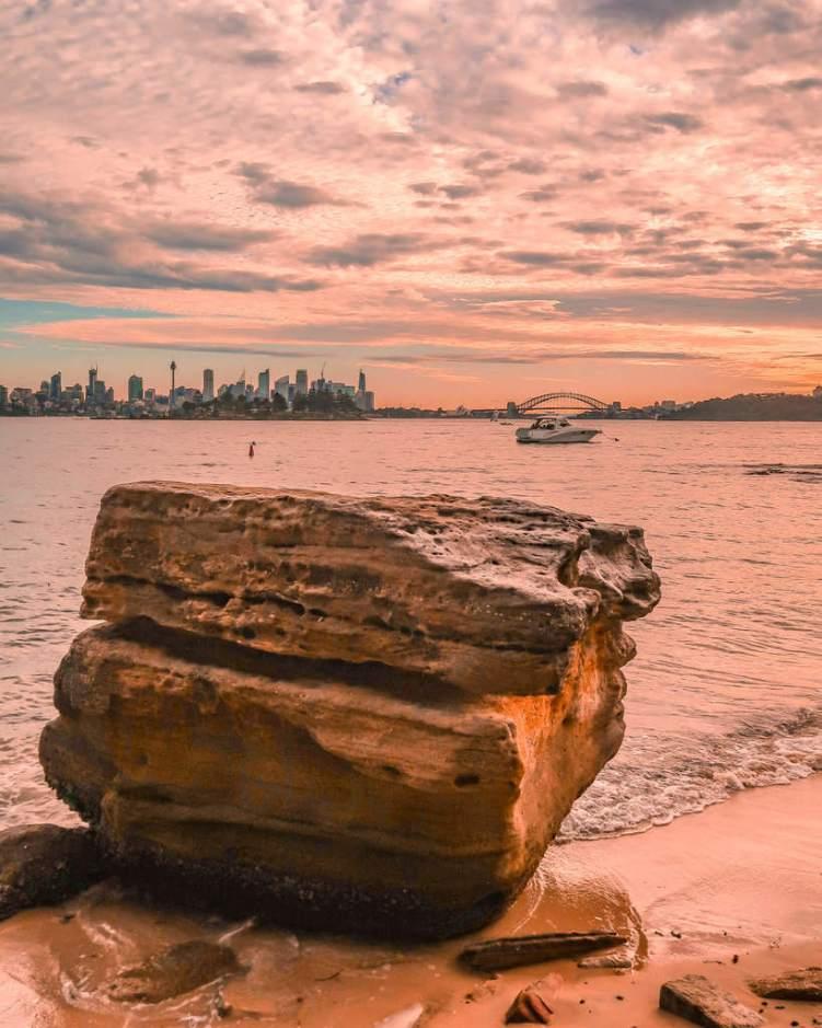 milk beach Sydney hermitage foreshore track