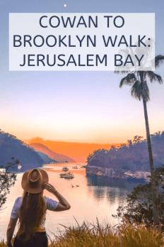 Cowan to Brooklyn walk Jerusalem bay