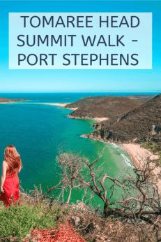 tomaree head summit walk port Stephens