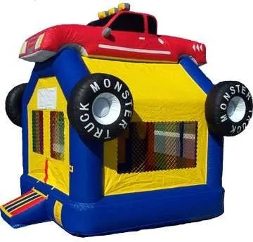 Moster Truck Bounce House