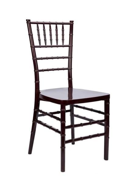 chiavari mahogany chair