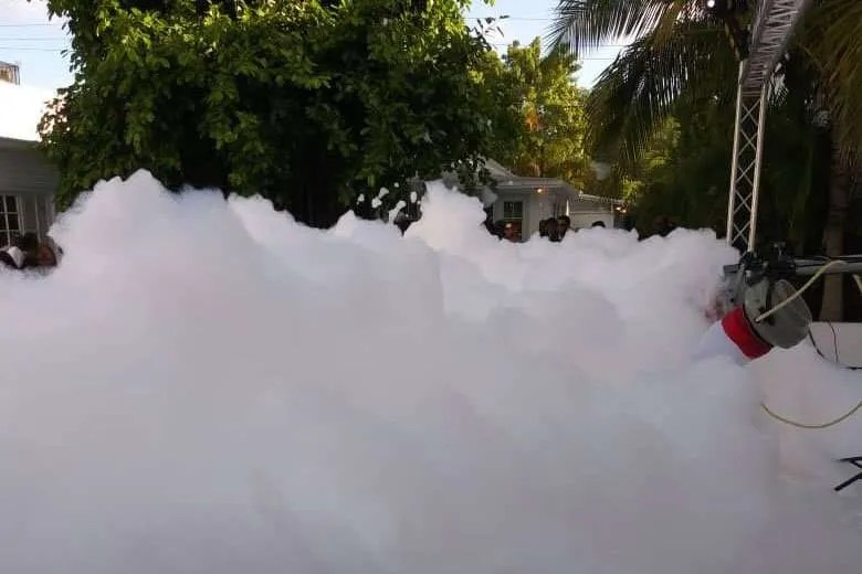 outdoor foam